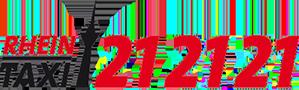 RHEIN-TAXI – 21 21 21 – Auf die nette Tour… Logo
