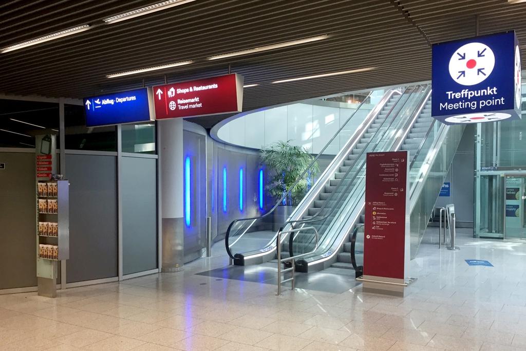 Flughafen Düsseldorf Meeting Point